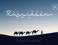 Rasyideen - Arabic Fauxlang Typeface