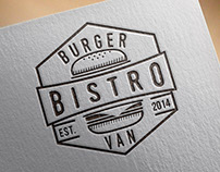 Burger Van Bistro Branding