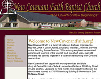 New Covenant Web Layout
