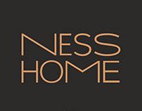 Ness Home: логотип, айдентика / logotype, identity