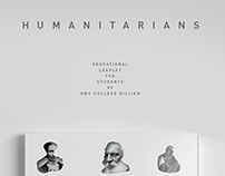 UWC Dilijan | HUMANITARIANS Leaflet
