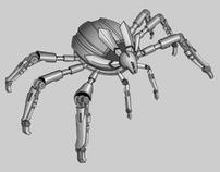Infiltrator Robot Finished Render