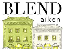 Blend Aiken logo design