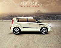 KIA car advertising