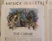 Illustration for Mensa Bulletin September Fiction Issue