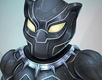 Black Panther Digital illustration