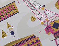 NKD Bristol Print