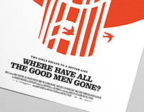 Where Have All The Good Men Gone? | Movie Poster Design