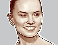 Sketches / Daisy Ridley