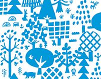 青い森 Blue forest I dreamed of Finland 2012~2017