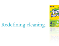 Swiffer Typography Campaign