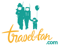 Travel fan logo