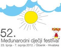 Poster for International Children's Festival, proposal
