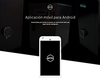 Aplicación móvil. Diseño UX/UI para Astra Safes.