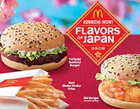 McDonald's Flavors of Japan