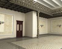 Визуализация реставрации Торгового дома Третьяковых