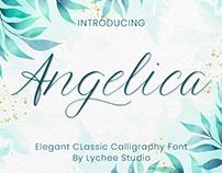 Angelica - Classic Script Font
