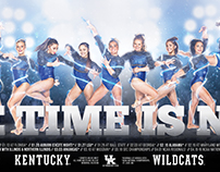 2017 Kentucky Gymnastics Poster