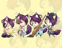Kiku : Chibi collection