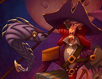 Captain Eel Red Beard