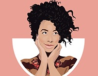 Corinne Bailey Rae Illustration