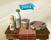 Iogurtes Yara e linha de sobremesa Doce Vida
