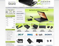 The Technology Store Web Design