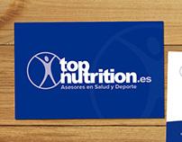 Top Nutrition- Diseño corporativo