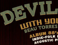 WRAS Radio Station Album 88 Devil Town Poster