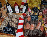 Saucisson au Marché de Saint-Rémy de Provence