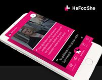 HeForShe Mobile App