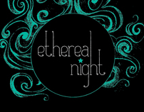Ethereal Night fashion show poster