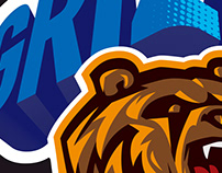 Bear Sport Vector Logo