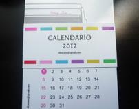 Proyecto Personal: Calendarios 2012