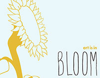 Art is in Bloom: SDSU Spring Open House Poster
