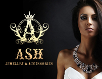 Ash Jewellery & Accessories Brand & Web Design