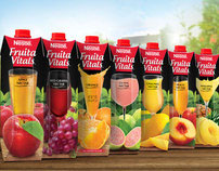 Nestlé Fruita Vitals Packaging 2012