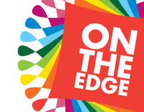 On The Edge festival - visual identity