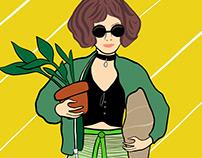 Mathilda Loves Plants