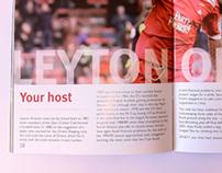 The NextGen series final, Match programme