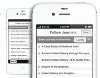 Journals - iPhone App