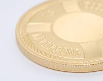 100th Anniversary Titanic Commemorative Coin Design
