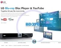LG Blu-ray player BD370 | 2008