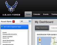US Airforce Asset Tracker