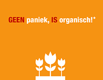 Don't Panic, It's Organic! POSTERS