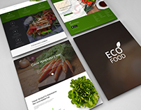 Eco food | Free template