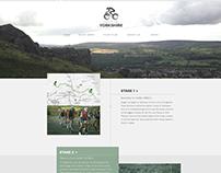 Tour de Yorkshire Website Re-brand and ident