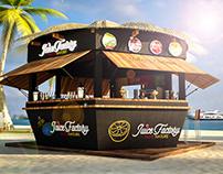 Juice Factory Kiosk Sea Shell