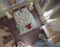 Custom Designed Boy's Bedroom