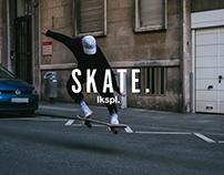 skating through cologne